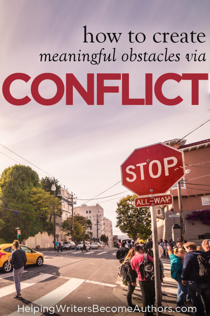 How to Create Meaningful Obstacles Via Conflict