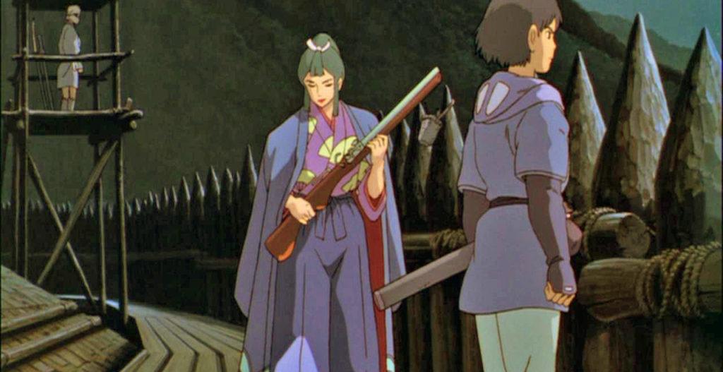 Lady Eboshi Ashitaka Princess Mononoke