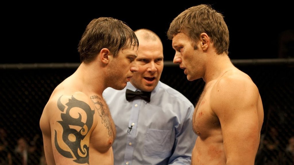 Warrior Tommy and Brendan Conlon Tom Hardy Joel Edgerton