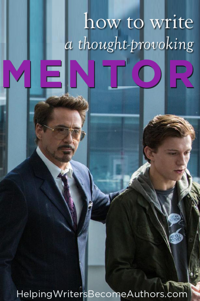 4 Ways to Write a Thought-Provoking Mentor Character