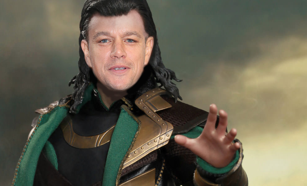 Thor Ragnarok Matt Damon as Loki