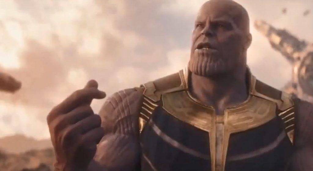 Thanos Infinity war Snap